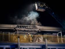 Flat volledig verwoest door brand in Doorn