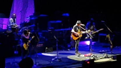 Zo klonk Neil Young in het Sportpaleis