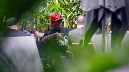 """Wenende Dennis Rodman spreekt van """"grote dag voor iedereen"""""""