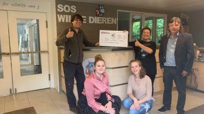 Leerlingen Sint-Catharinacollege zamelen twee keer 1.000 euro in voor goede doelen
