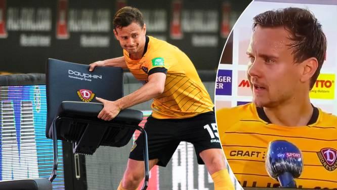 """Emoties nemen de bovenhand bij Duitse voetballer na slopende weken: """"Wij betalen de verdomde prijs voor deze rotzooi"""""""