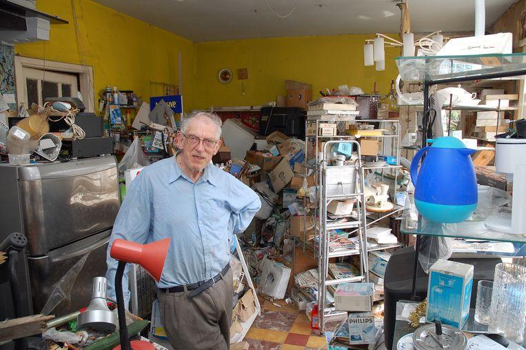 Charles en Marcella stonden tot 2011 nog in de winkel. Het koppel vond in de chaos altijd alles terug.