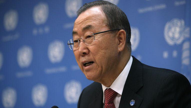 Ban Ki-moon Beeld getty