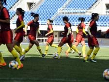 """Cours de """"patriotisme"""" obligatoire pour les Chinoises avant la Coupe du monde en France"""