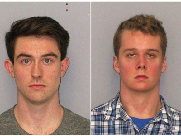 Preston Taylor (links) en Liam McAtasney zijn beiden verdachte in zaak rond de verdwijning van Sarah Stern.