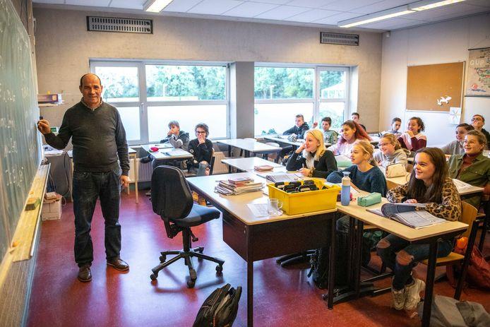 Hafid Draoui werd vorig jaar uitgeroepen tot beste leraar van Zeeland.