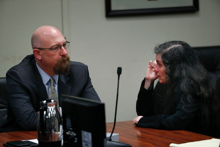Louise Turpin tijdens haar proces op 22 februari 2019.