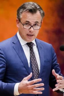 Staatssecretaris Mark Harbers op bezoek in de Hoeksche Waard