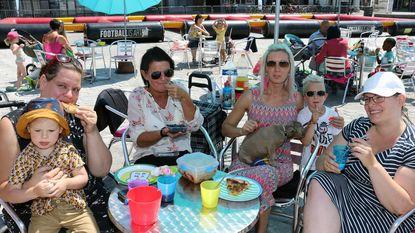 Picknick eens op de Grote Markt