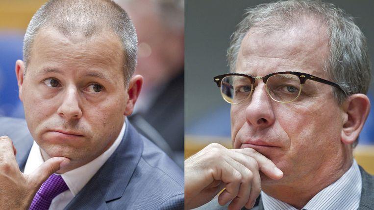 Kamerleden Marcial Hernandez (links) en Wim Kortenoeven. Beeld ANP / Beeldbewerking Redactie