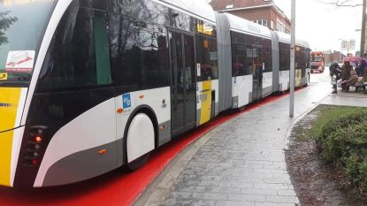 "Nieuwe trambus maakt testritje in centrum: ""Chauffeur wilde wat afwisseling"""