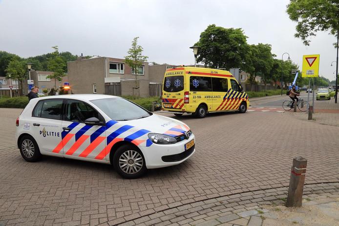 Fietsster gewond na aanrijding Helmond