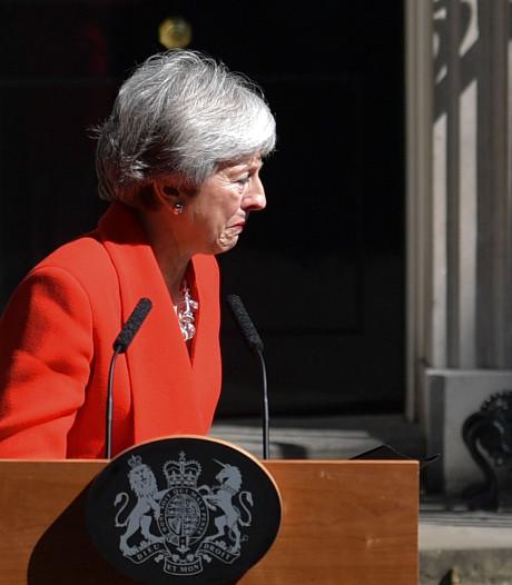Theresa May in tranen: Britse premier stapt 7 juni op