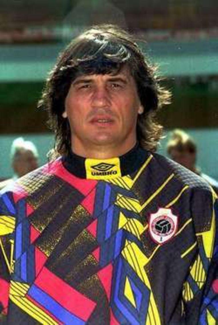 Ratko Svilar toen hij nog voor FC Antwerp keepte.
