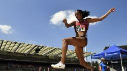 Nafi Thiam pakt op BK atletiek titel in het verspringen en benadert opnieuw Belgisch record - Borlées lopen EK-limiet