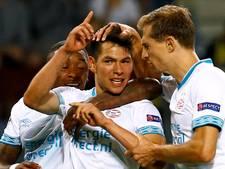 PSV verschaft zich riante uitgangspositie in Borisov