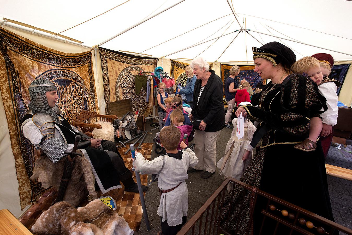 Eerdere editie van de Hanzefeesten in Doesburg.