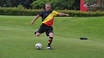 Yves verdedigt onze driekleur op WK... Footgolf
