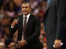 Phoenix Suns wijzen trainer Watson na drie duels de deur