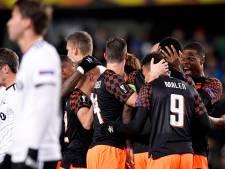 PSV blijft foutloos in Europa League na ruime zege op Rosenborg