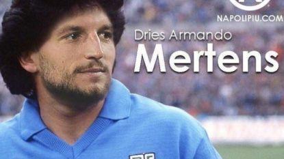 Dries Mertens scoort zijn 115de voor Napoli en evenaart doelpuntenrecord van Diego Maradona