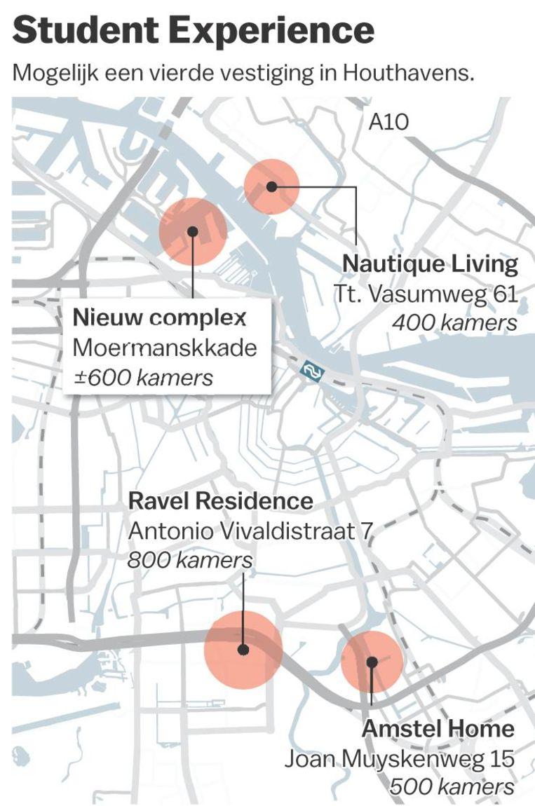 Vestigingen Student Experience Beeld Maps4News/Jet de Nies