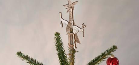 Het moet niet gekker worden: een tullepepiek voor op de kerstboom