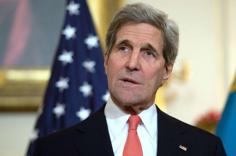 John Kerry Beeld afp