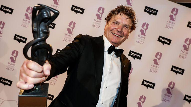 Hans van Hemert won dit jaar de Buma Lifetime Achievement Award. Beeld anp
