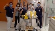 Hartverwarmend: bakker Bert verrast personeel AZ Alma met lekkernijen