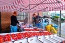 Winkelen in De Zeeland, dat doen Bergenaren graag.