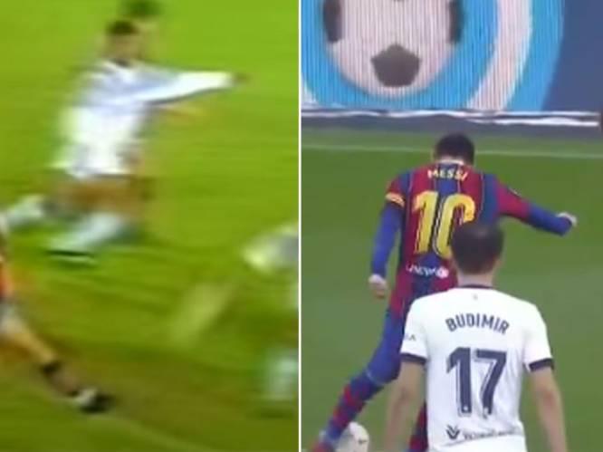 Straf: Messi's goal haast identiek aan debuutgoal van Maradona bij Newell's, die kleine Leo live bijwoonde