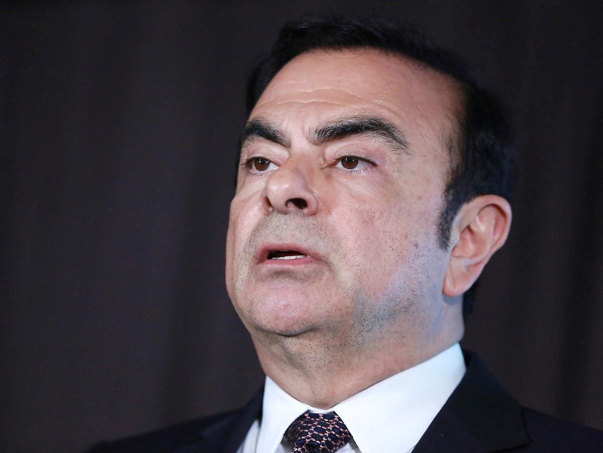 Oud Nissan-topman Carlos Ghosn.