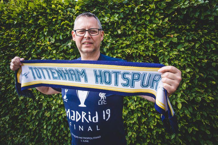 Luc Baert, Tottenhamsupporter.