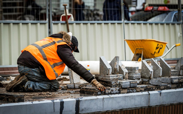 Veel van de projecten hebben te maken met de bouwsector.