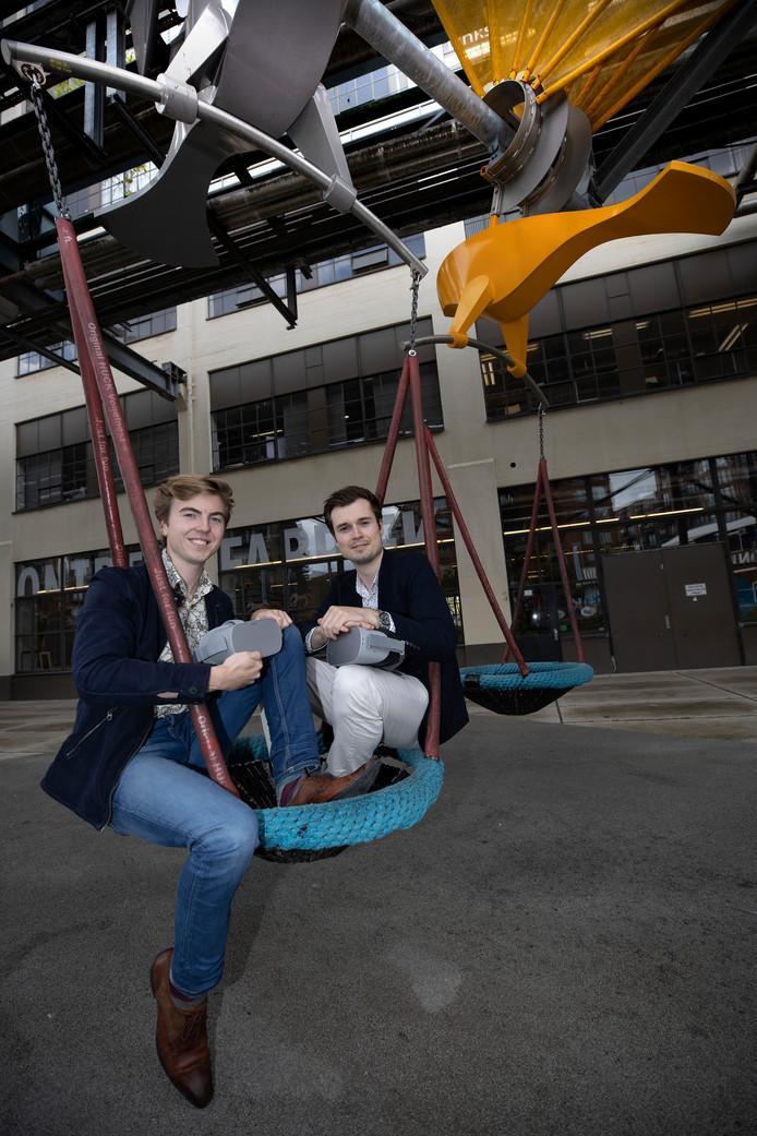 Jason van Eunen (l) en Freek Teunen van Playground VR.