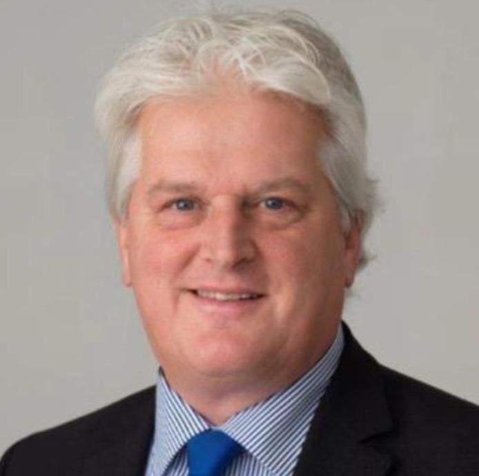 Wethouder Martin Ekker (VVD) van Kampen