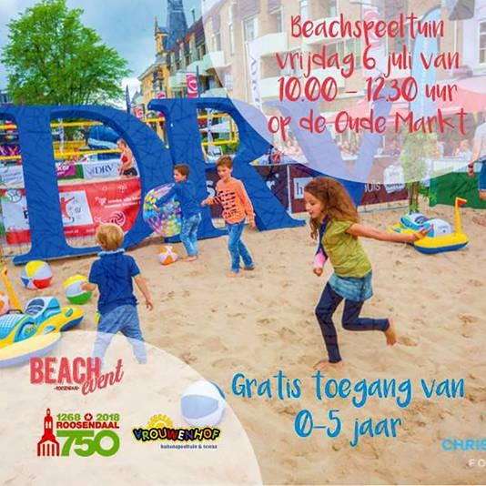 Foto Beach Event Roosendaal