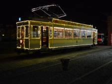 Met de historische kersttram naar 't Stad