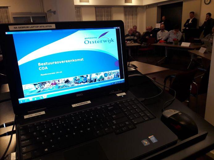 Archiefbeeld: Oisterwijk staat voor het tekenen van een nieuwe bestuursovereenkomst met het COA over verlenging van het asielzoekerscentrum.