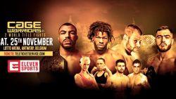 Ga dankzij HLN.be exclusief als SUPER VIP naar 'Cage Warriors' in Lotto Arena!