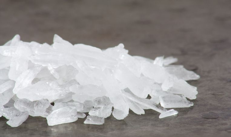 Crystal meth. Beeld Shutterstock