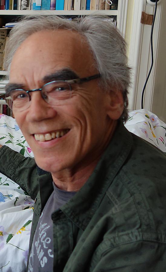Dichter André van der Veeke.