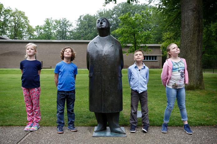 Kinderen bij Meneer Jacques.