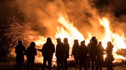 Paasvuren in Nederland en Duitsland leiden tot fijnstofwolk boven Vlaanderen