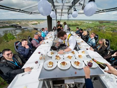 Spectaculair evenement 'Dinner in the Sky' komt naar Woerden