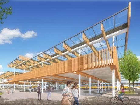 Van achterkant naar entree: zo komt de fietsenstalling bij Station Dordrecht er uit te zien