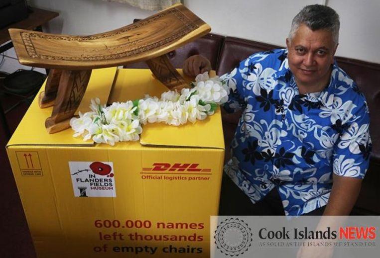 De No'oanga. een unieke stoel uit de Cookeilanden.