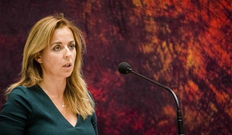 Marianne Thieme (PvdD) Beeld ANP