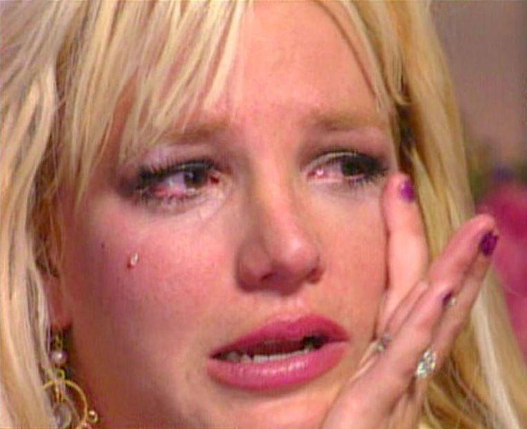 Britney Spears wordt geïnterviewd over haar huwelijk en haar moederschap, 2006. Beeld NBC News /Sunshine